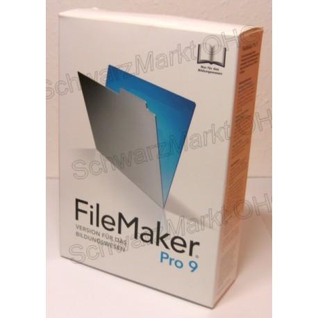 FileMaker Pro 9 Schulversion
