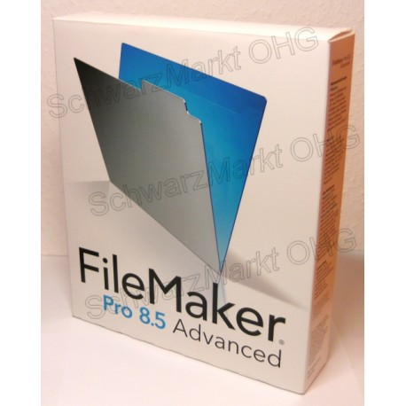 FileMaker Pro 8.5 Advanced Vollversion