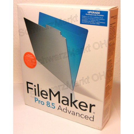 FileMaker Pro 8.5 Advanced Upgrade
