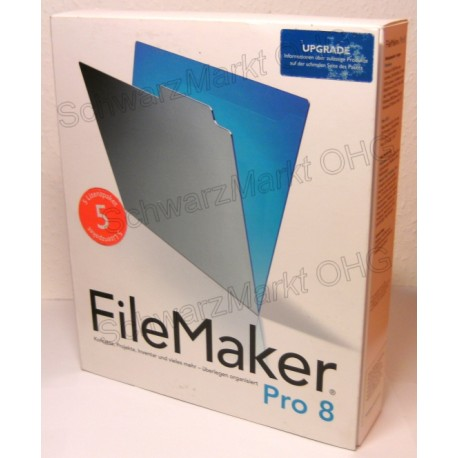 FileMaker Pro 8 Upgrade 5er-Lizenzpaket
