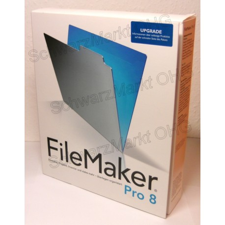 FileMaker Pro 8 Upgrade