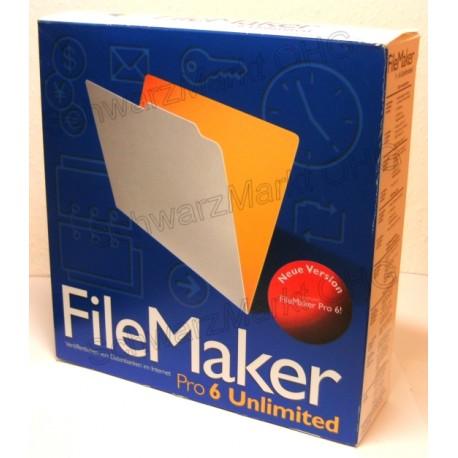 FileMaker Pro 6 Unlimited Vollversion