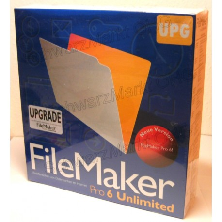 FileMaker Pro 6 Unlimited Upgrade