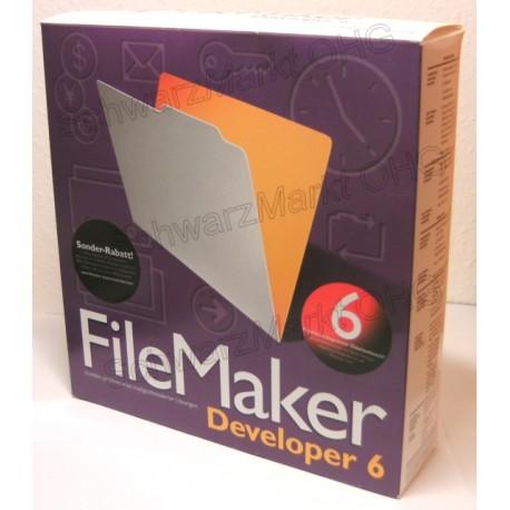 FileMaker 6 Developer Vollversion