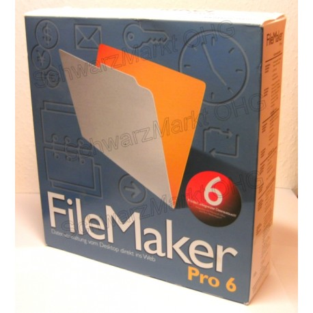 FileMaker Pro 6 Vollversion