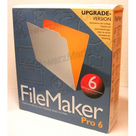 FileMaker Pro 6 Upgrade