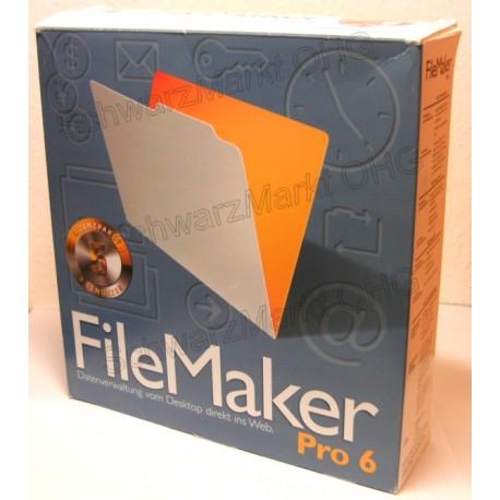 FileMaker Pro 6 Vollversion 5er-Lizenzpaket