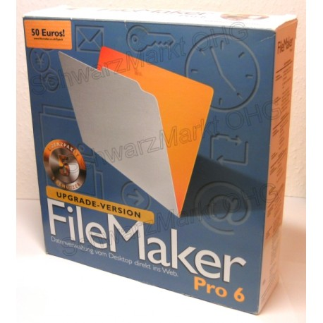 FileMaker Pro 6 Upgrade 5er-Lizenzpaket