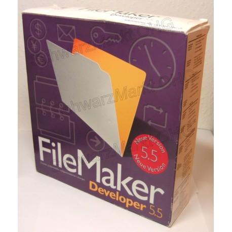 FileMaker 5.5 Developer Vollversion