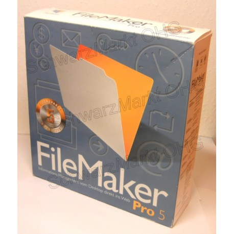 FileMaker Pro 5.5 Upgrade 5er-Lizenzpaket
