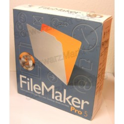 FileMaker Pro 5 Vollversion 5er-Lizenzpaket