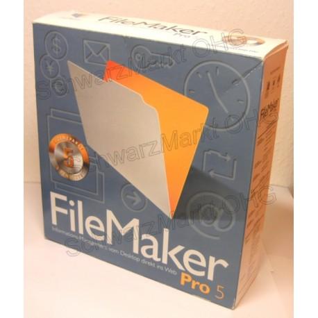 FileMaker Pro 5 Vollversion 5er-Lizenzpaket