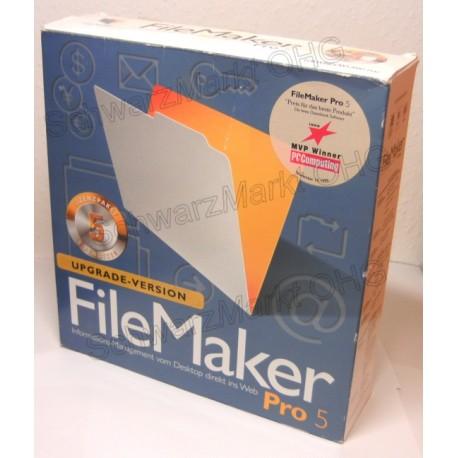 FileMaker Pro 5 Upgrade 5er-Lizenzpaket