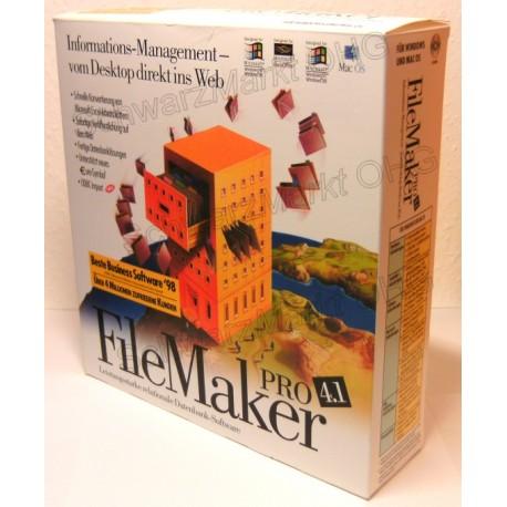 FileMaker Pro 4.1 Vollversion
