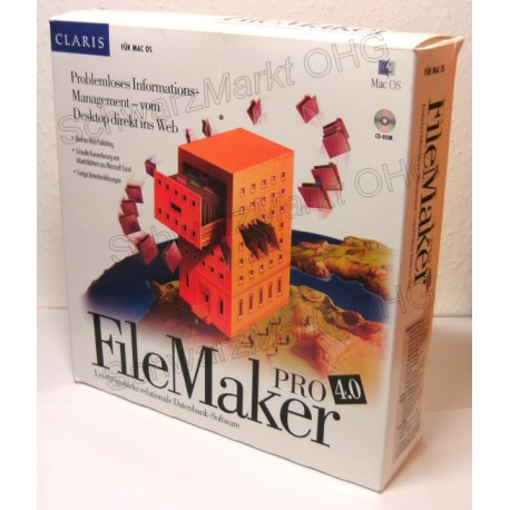 FileMaker Pro 4 Vollversion