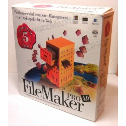 FileMaker Pro 4 Vollversion 5er-Lizenzpaket