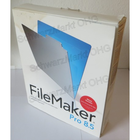 FileMaker Pro 8.5 Vollversion