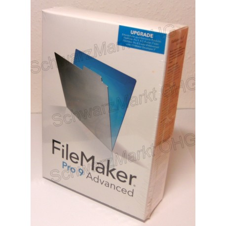 FileMaker Pro 9 Advanced Upgrade