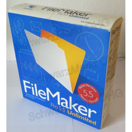 FileMaker Pro 5.5 Unlimited Vollversion