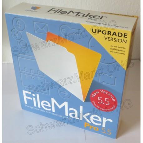 FileMaker Pro 5.5 Upgrade