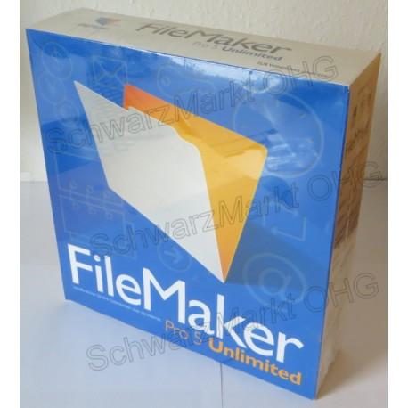 FileMaker Pro 5 Unlimited Vollversion