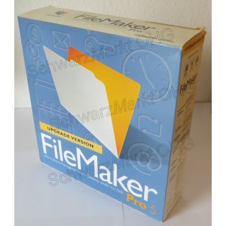 FileMaker Pro 5 Upgrade