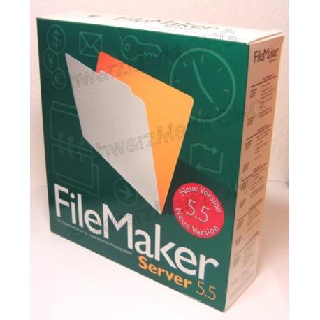 FileMaker Pro 5.5 Server Vollversion