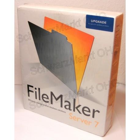 FileMaker Pro 7 Server Upgrade
