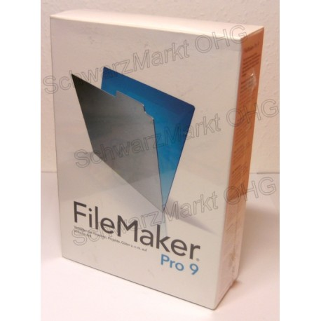 FileMaker Pro 9 Vollversion
