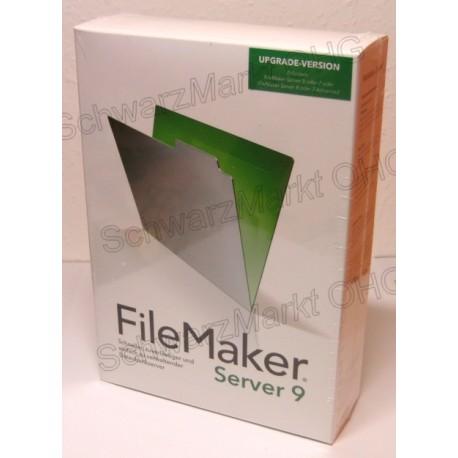 FileMaker 9 Server Upgrade