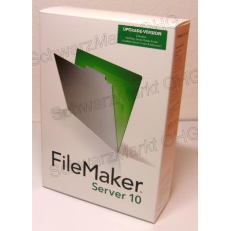 FileMaker 10 Server Upgrade
