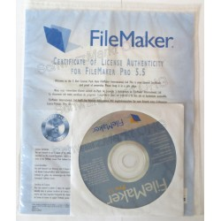 FileMaker Pro 5.5 Vollversion 5er-Lizenzpaket