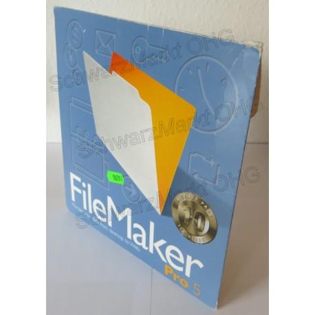 FileMaker Pro 5 Vollversion 10er-Lizenzpaket